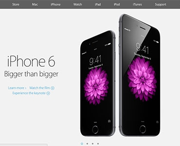 Now Apple.com Website Responsive